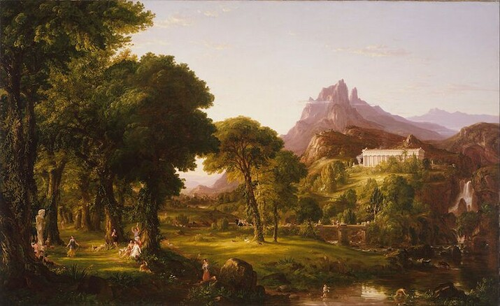 Thomas Cole, Dream of Arcadia